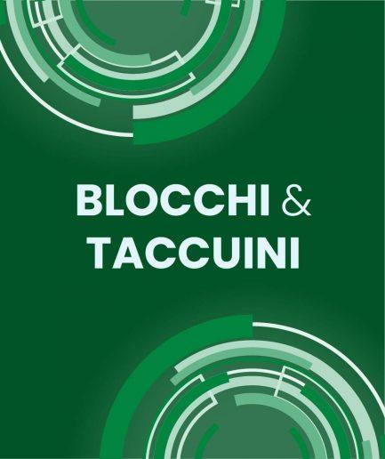 10 Blocchi & Taccuini
